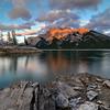 Canadian Rocky Mountain Sunset