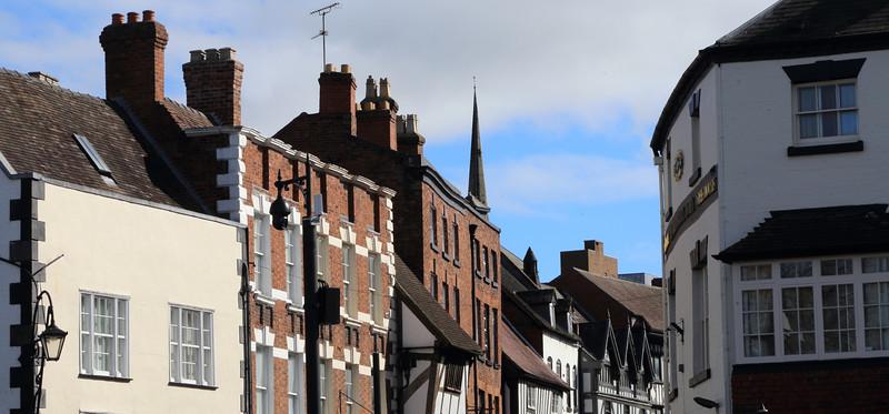 Mardol, Shrewsbury.