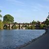 River Severrn and  the English Bridge, Shrewsbury