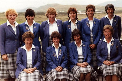 Waterville 1985 -- Shirley, Aileen and Wilma (3 Renfrewshire Players)