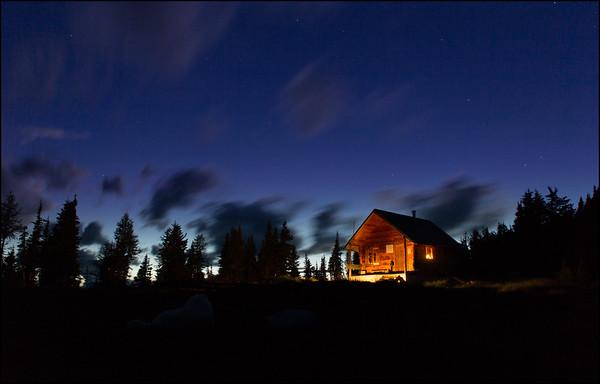 Jumbo Cabin Evening