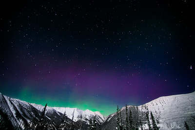Aurora Nights, Sorcerer Lodge, BC