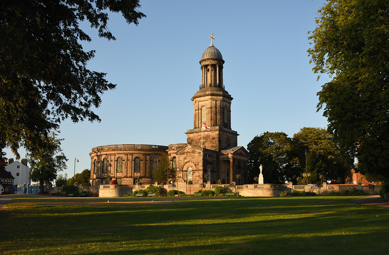 st chads church, Shrewsbury