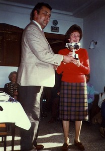 RLCGA Championship Kilmacolm 1983 - Winner Dorothea Hastings