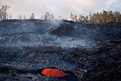 Volcanic vent, Hawaii