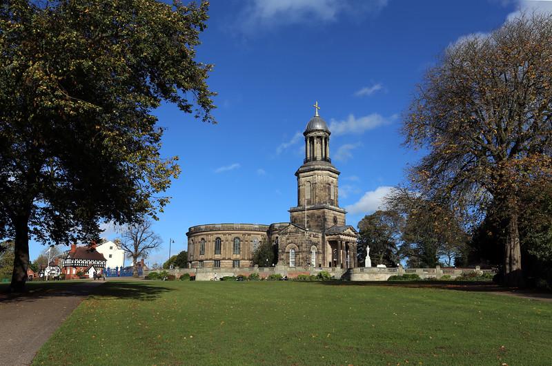 St Chads church ,Shrewsbury