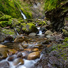 Waterfall in the Santa Cruz Mountains