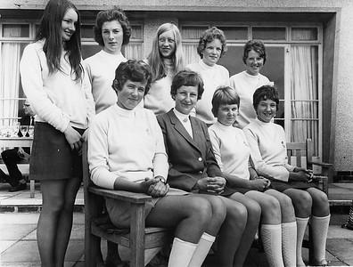 Scottish Girls Team  Llandudno 1970