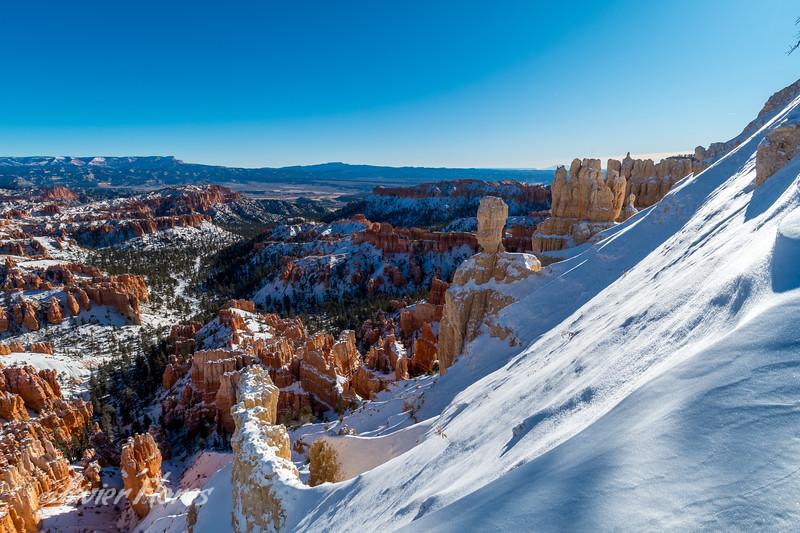 Snow at Bryce Canyon