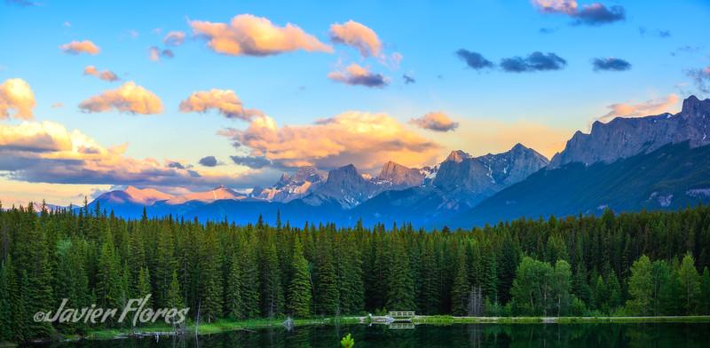 Canadian Rockies, Band National Park Canada