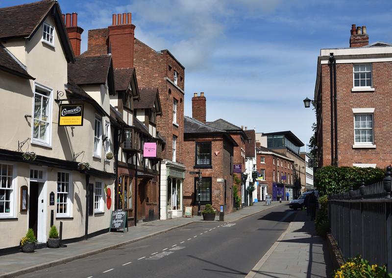 St Marys Street, Shrewsbury.
