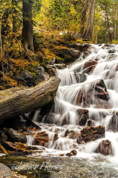 Lee Vining Creek Waterfall