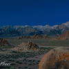 Alabama Hills Moonlight