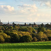 A view of Shrewsbury town centre taken from Hencote Hill.