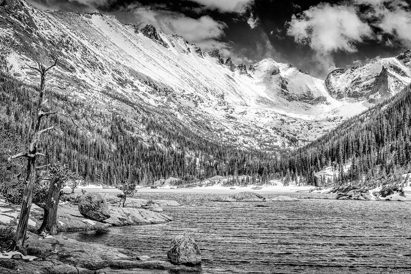Mills Lake Monochrome