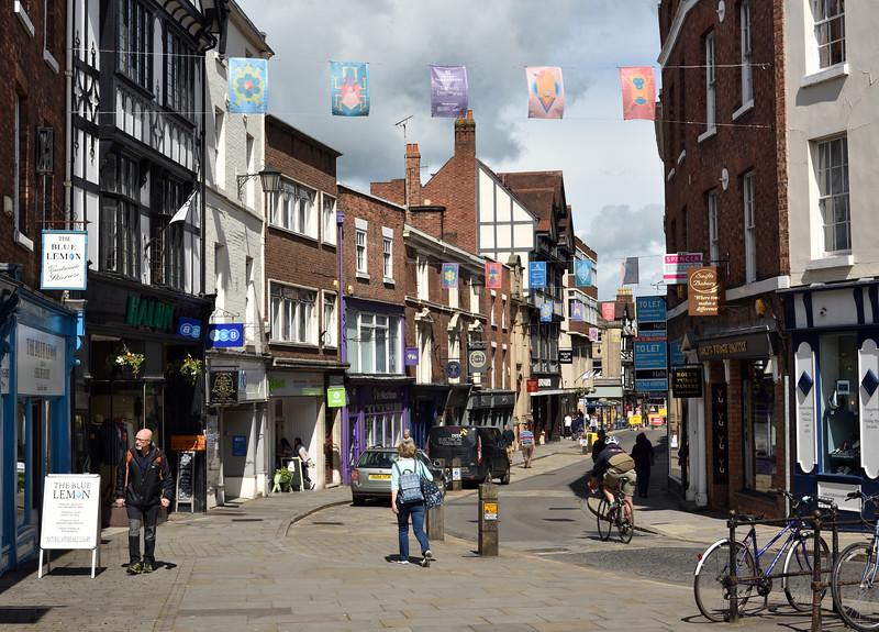 High Street, Shrewsbury.