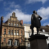 Lord Clives statue in the Square, Shrewsbury.