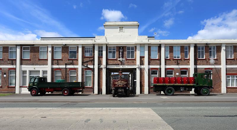 The Sentinel Works, Whitchurch Road, Shrewsbury.