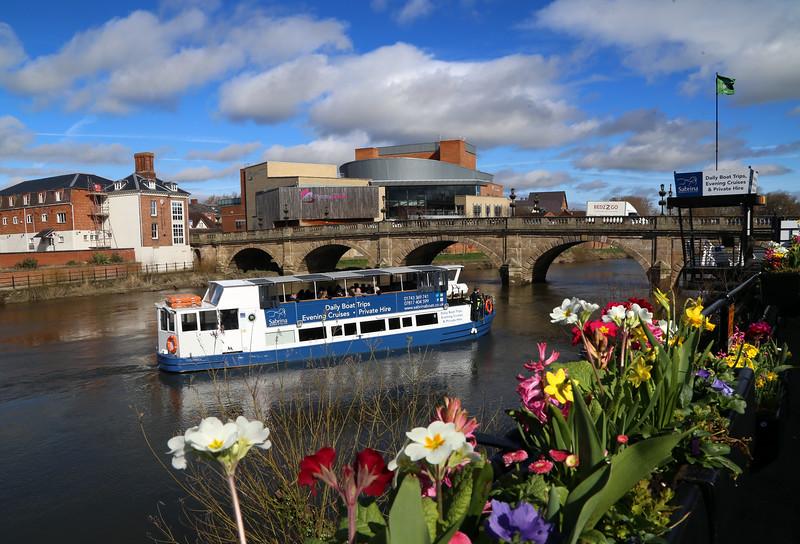 The Sabrina boat, Shrewsbury.