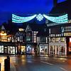 Shrewsbury Christmas lights, Wyle Cop.