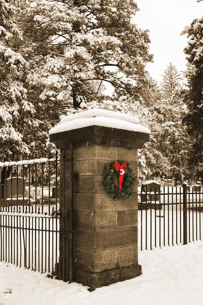 Sepia Gates for the Holidays