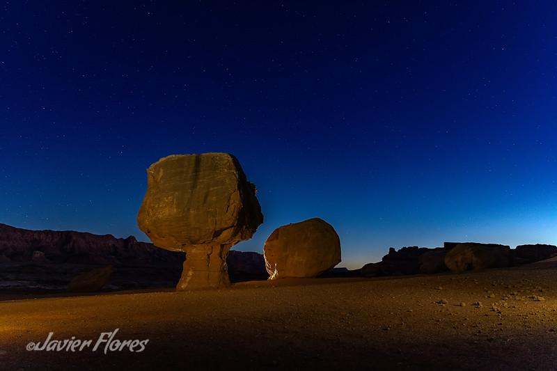 Balance rocks, Marvel Canyon