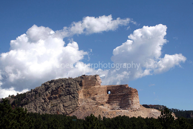 crazy horse memorial. well worth a visit.