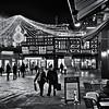 Shrewsbury Christmas lights, the Square.