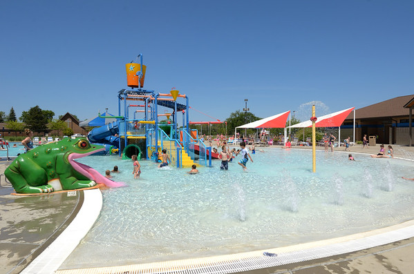 kid's pool at aberdeen aquatic center