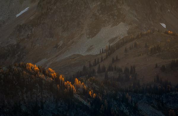 Last Light on La Larches