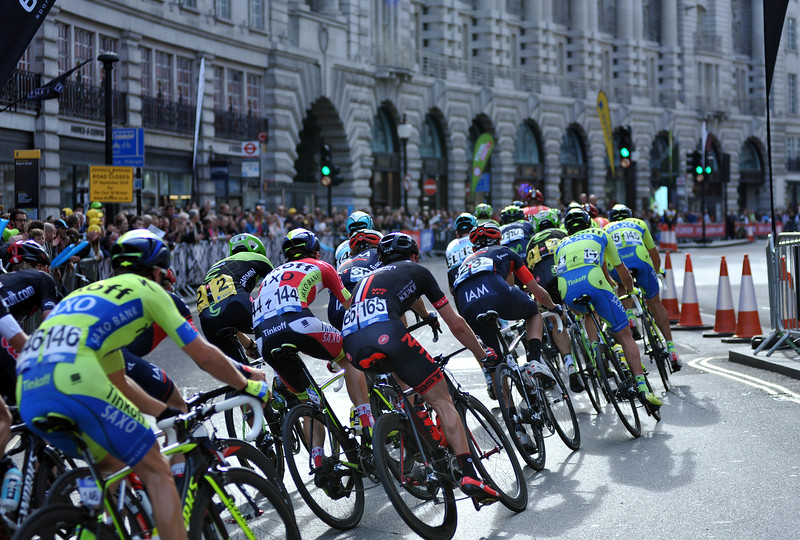 The Aviva Tour of Britain, Stage 8. LONDON, ENGLAND