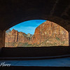 Zion National Park Tunnel View Window