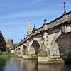 River Severn and the English Bridge, Shrewsbury.