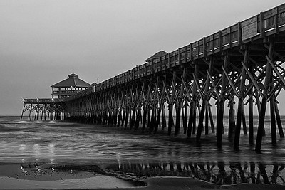Folly Beach  Pier, Charleston, SC