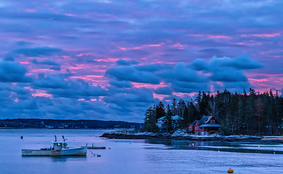 Unusual Five Islands Sunrise