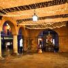 Xmas lights at the old market Hall, Shrewsbury.