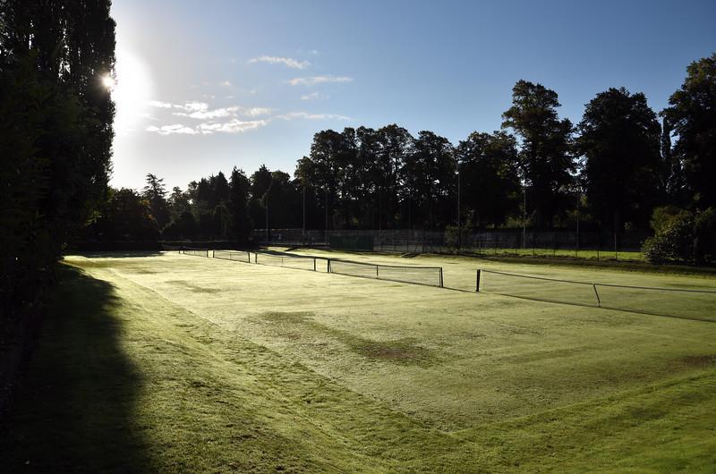 Tennis club and courts, Shrewsbury.