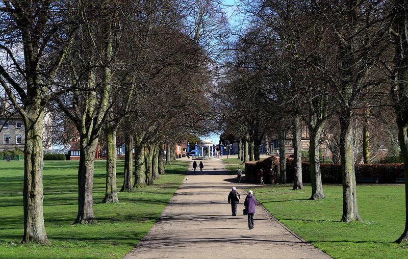 The Quarry, Shrewsbury.