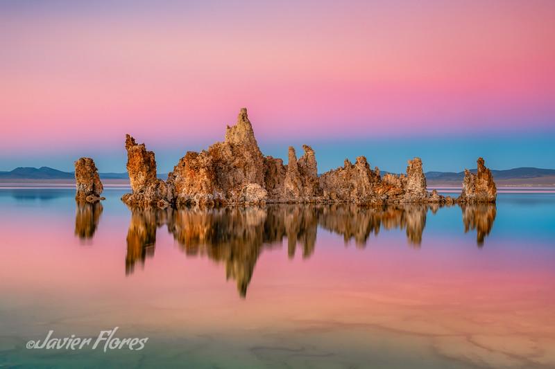 Mono Lake Reflections at Sunset