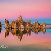 Mono Lake Reflections at Sunset