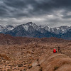 Photographer at Alabama Hills