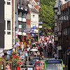 Pride Hill and Shoplatch,  town centre, Shrewsbury.