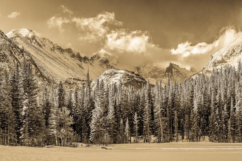 Glacier Gorge - Antique