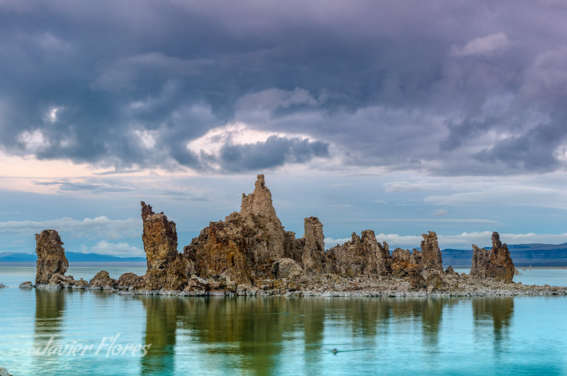Stormy skys over Mono Lake
