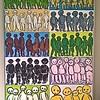 People.   Acryl.    1.2 x 2.0 m