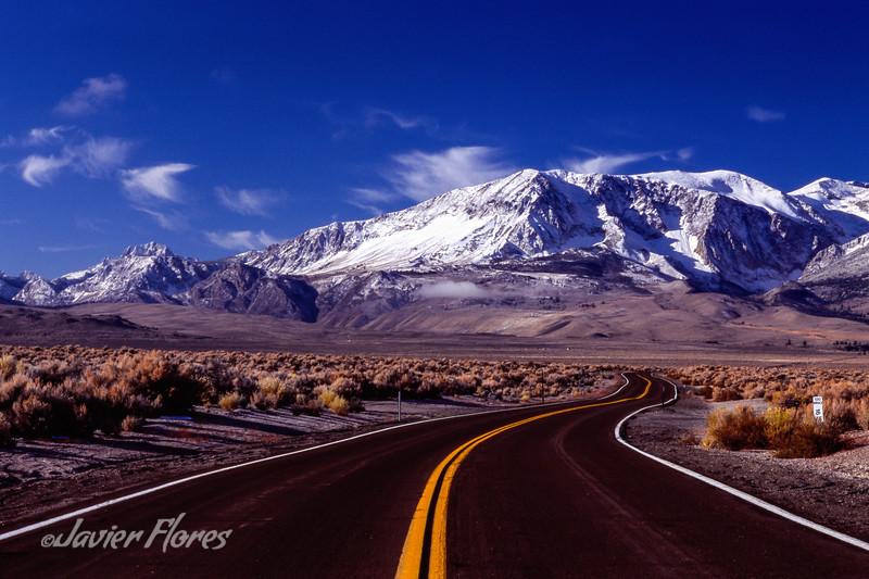 Highway 120 Eastern Sierra