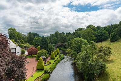 The Auld Brig or Bridge in Alloway near Ayr Scotland