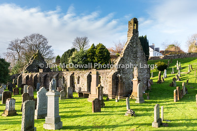 Kirkoswald Church & Graveyard Ayrshire made famous by Robert Burns.