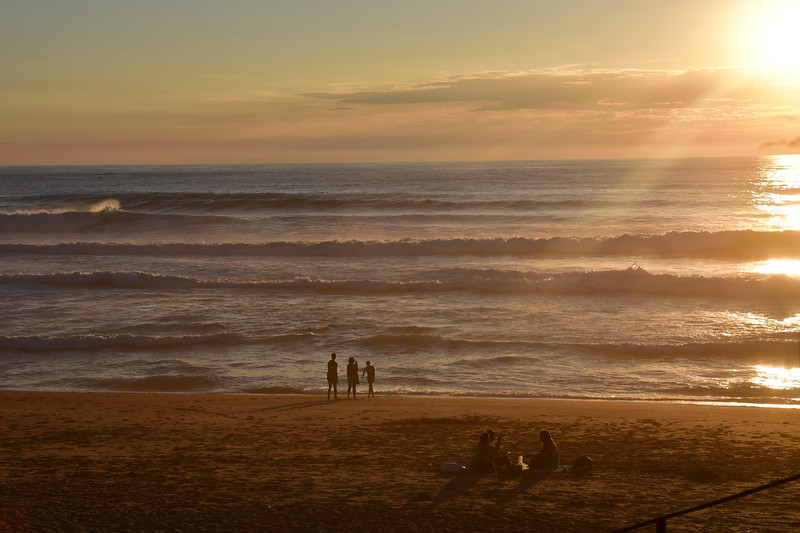 Sunset in Anglet