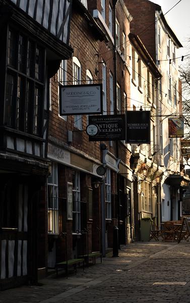 Butcher Row, Shrewsbury.